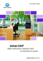 Bizhub C35_p impresora