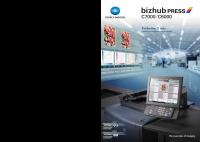 Bizhub PRESS C7000 maquina de produccion a color