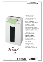 Destructora Primo 1401 Catalogo
