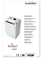 Destructora Primo 4001 Catalogo