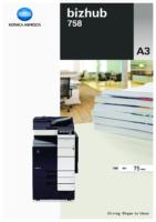 Catálogo BIZHUB 758