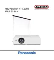 Proyector PT-LB303 mas Ecran